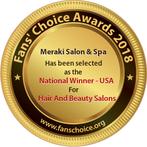Meraki Salon & Spa - Award Winner Badge