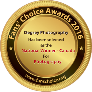 Degrey Photography - Award Winner Badge