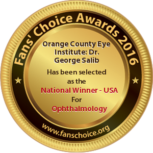 Orange County Eye Institute - Award Winner Badge