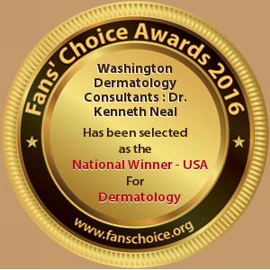 Washington Dermatology Consultants - Award Winner Badge
