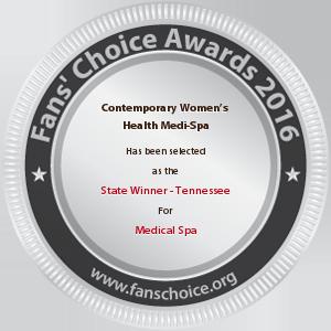 Contemporary Women's Health Medi-Spa - Award Winner Badge