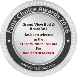 Grand View Bed & Breakfast - Award Winner Badge