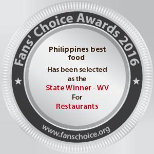 Philippines best food - Award Winner Badge