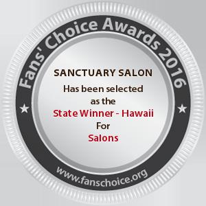 SANCTUARY SALON - Award Winner Badge