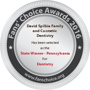 David Spilkia Family and Cosmetic Dentistry - Award Winner Badge