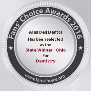 Alex Bell Dental - Award Winner Badge