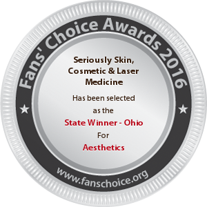 Seriously Skin Cosmetic and Laser Medicine - Award Winner Badge