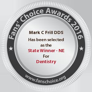 Mark C Frill DDS - Award Winner Badge