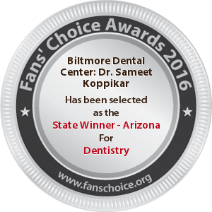 Biltmore Dental Center - Award Winner Badge