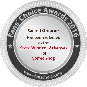 Sacred Grounds - Award Winner Badge