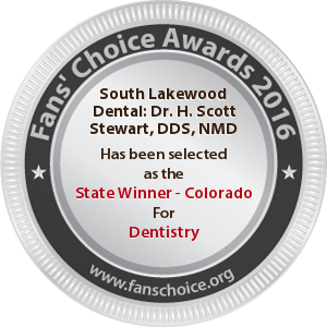 South Lakewood Dental - Award Winner Badge