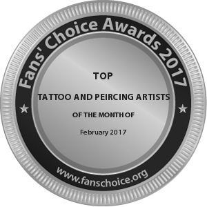 Ohana Tattoo Parlor - Award Winner Badge