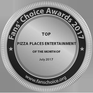 Richmoor's Pizzeria - Award Winner Badge