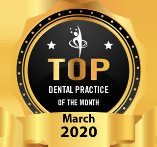 K&E Advanced Dentistry - Award Winner Badge