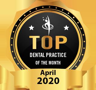 Hanford Family Dental Center - Award Winner Badge