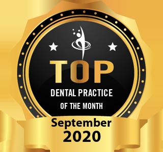 Peninsula Dental Implant Center - Award Winner Badge