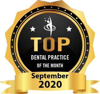 Precision Dental Dubai - Award Winner Badge