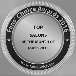 K.A.T SALON & SPA - Award Winner Badge