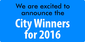City Winners for 2016