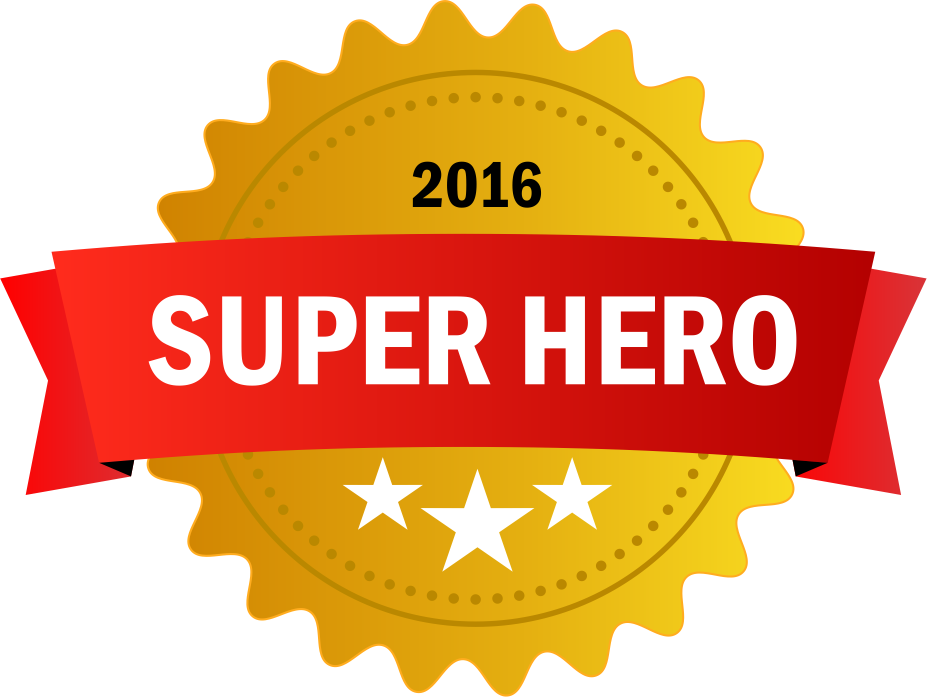Super Hero Badge
