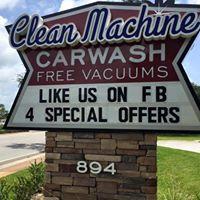 Clean Machine Carwash